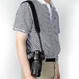 BIRUGEAR LCD Lens Pen + Black Anti-Slip Neoprene Camera shoulder/Neck Strap Belt + Cleaning Cloth for Canon SX510 HS SX50 HS G15 EOS 70D 6D SX500 IS XT XTi XS XSi T1i T2i T3i T3 T4i T5i SL1; Nikon P600 P530 L820 D5300 D3300 D3200 D5200 D5100 D800 D4; Pentax Q10 Q7 X-5 and Sony Fuji Olympus Panasonic SLR Camera