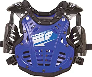 Fly Racing Convertible II Youth Roost Deflector Dirt Bike Motorcycle Body Armor - Junior - Blue / One Size