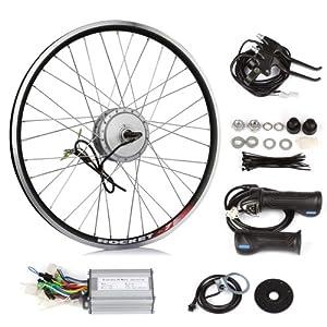 SainSpeed DIY Electric Bike Bicycle Motor Conversion Kit with Hub Motor with wheel,... by SainSpeed