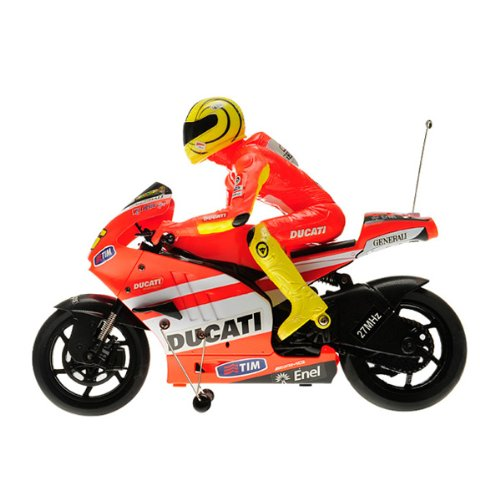 Lujex Remote Control RC Ducati GP11 60210 1:10 Motorcycle Auxiliary Wheel-Red