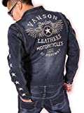 (バンソン) VANSON デニム オールインワン つなぎ NVAO-603 インディゴ XXL