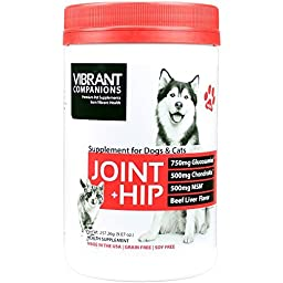 Vibrant Companions - Joint + Hip - Joint and Hip Support for Dogs and Cats, 9.07 Ounce (FFP)