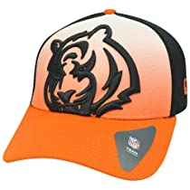 NFL Cincinnati Bengals NE Graduation 39Thirty Flex Fit Cap, Medium/Large