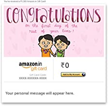 Congratulations (First Day) - Email Amazon.in Gift Card