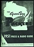 1951 Green Bay Packers Media Guide Repro - NFL Football Reproduction at Amazon.com