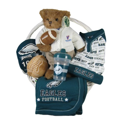Philadelphia Eagles Baby Gift Basket ***TOUCHDOWN***