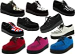 Ladies Punk Goth Platform Creepers Shoes