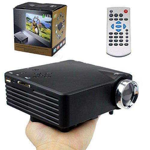 Sannysis(Tm) Best Led Projector Home Cinema Av Vga Usb Sd Hdmi Hd 1080P