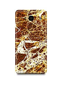 Golden Marble Xiaomi Redmi 2 Case