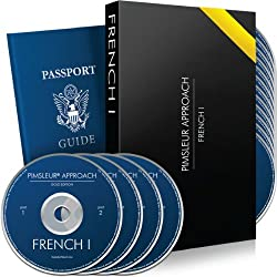 PIMSLEUR FRENCH LEVEL 1 Language Learning Course - Learn French w/Dr. Pimsleur's Rapid Learning Method, Featured on PBS - Hold Real Conversations! Beginner French to Intermediate Fast! - Press Play, Listen, Learn - 30 Lessons/16 Audio CDs made by Internet