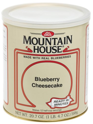 Cheesecake mountain house 10 can blueberry cheesecake for Mountain house coupon