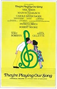 They're Playing Our Song Poster (Broadway) (11 x 17 Inches - 28cm x 44cm) (1979) Style A -(Robert Klein)(Lucie Arnaz)