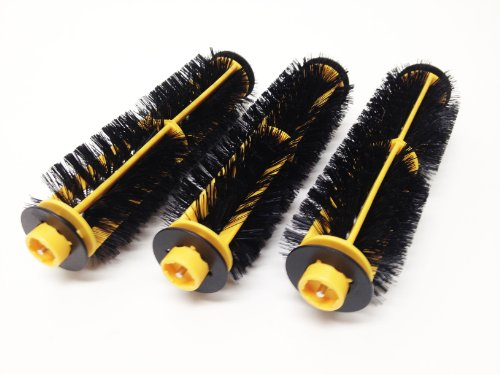 iRobot Roomba 400 4100 4200 1100 Discovery Series Easy Clean Replacement Main Bristle Brushes 11237, 3-pack (Roomba Gears 400 compare prices)