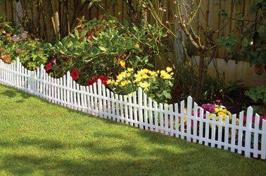 Greenhurst Fence Panels (Pack of 6) - White