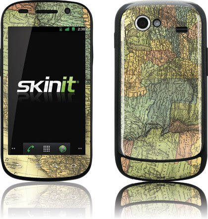 Skinit US and Mexico Map 1848 Vinyl Skin for Samsung Google Nexus S