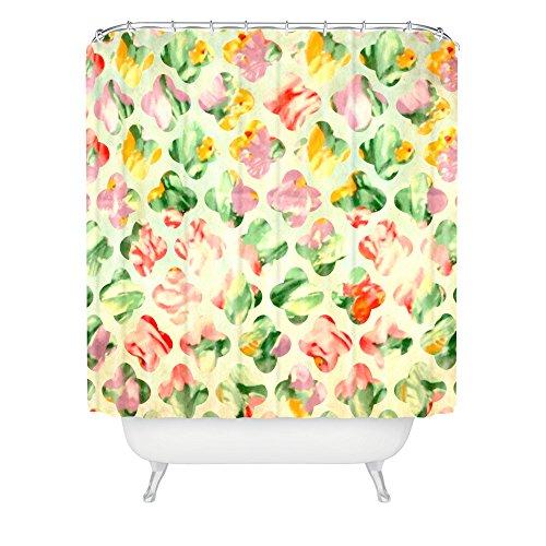 Deny Designs Arcturus Clover Round Shower Curtain front-386255