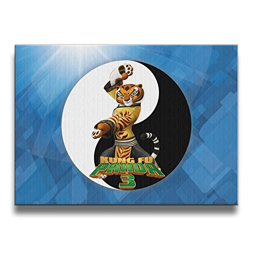 PHOEB Indoor Decorations - Kung Fu Panda 3 Tiger Frameless Photo Frame For 16x20 Inch Photo - Displays Prints, Posters,
