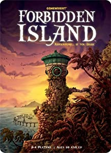 Forbidden Island with FREE Deck of Playing Cards