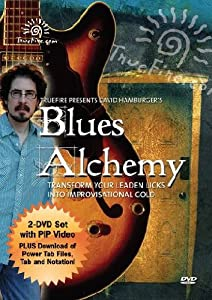 Blues Alchemy - Instructional Guitar 2-DVD Pack Featuring David Hamburger