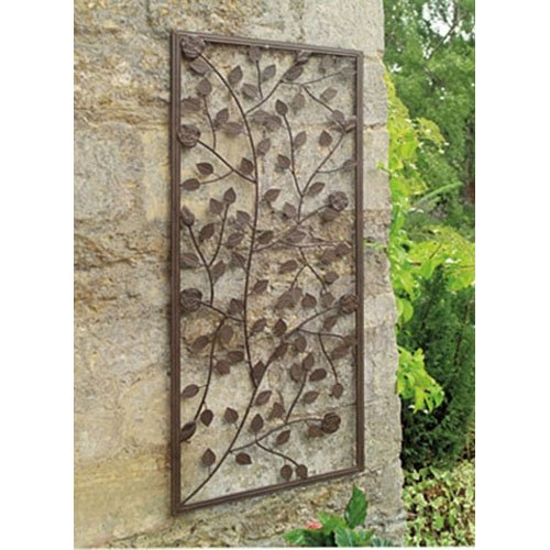 Jardiniere treillage pas cher for Plaque metal decorative pour jardin