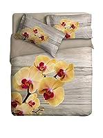 Ipersan Juego De Funda Nórdica Orchid (Beige/Amarillo)
