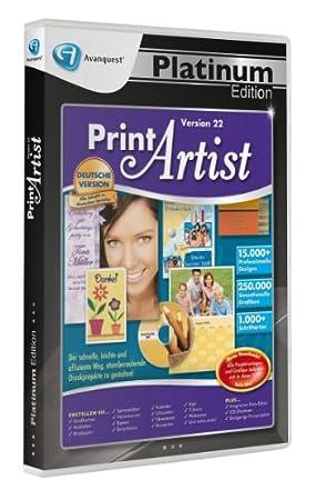 Print Artist 22 Platinum Edition