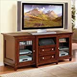 Kathy Ireland Home by Martin Furniture Bradley Wood Plasma TV Stand in Cher ....