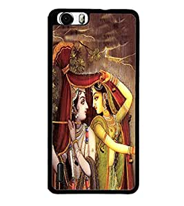 Fuson Premium 2D Back Case Cover Lord RadhaKrishna With Multi Background Degined For Huawei Honor 6