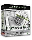 Software - CADarchitekt V.3 Professional - 3D Hausplaner Architektur Software / 2D Grundriss Programm