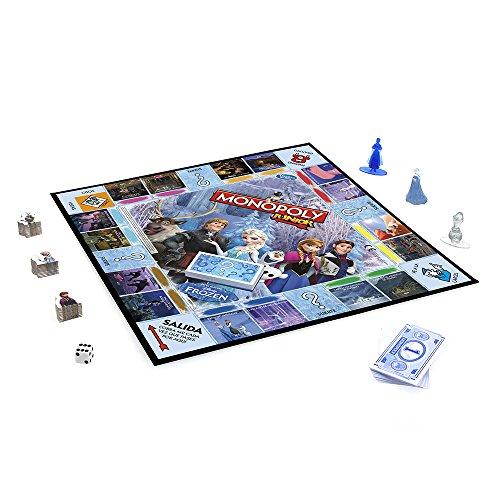 Monopoly - Juego de mesa Junior, con diseño Frozen (Hasbro B22471050)