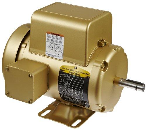 Baldor el3503 premium efficient ac motor single phase 56 for Single phase motor efficiency