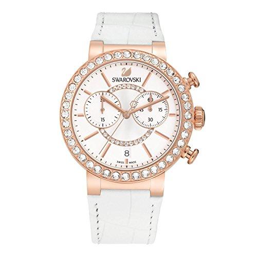 Swarovski orologio donna da polso Citra Sphere Chrono white rose gold PVD 5080602