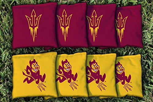 NCAA Replacement All Weather Cornhole Bag Set NCAA Team: Arizona State Sun Devils (Ncaa Corn Hole compare prices)