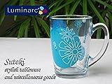 【 Luminarc 】リュミナルク グラフィック ブルー マグ【 アルク 】