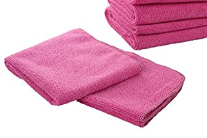 E-home Microfiber Cleaning Cloths for Boats, RVs, Cars and Trucks -5 Pack (12x32 Inch),High Absorbent Microfiber Car Cleaning Towels for the Best Quality Car Wash Equipment