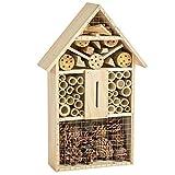 TecTake XXL Insektenhotel Insektenhaus 48 x 31 x 10cm