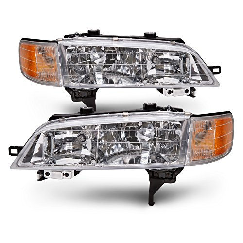 Honda Accord Headlights OE Style Replacement Headlamps Driver/Passenger Pair New (Honda Accord 1996 Headlights compare prices)