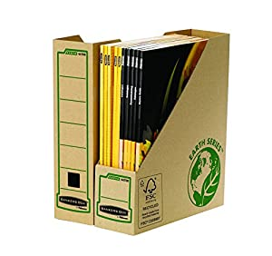 Bankers Box Earth Series Magazine File - Pack of 20