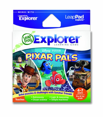 Leapfrog Explorer Learning Game Pixar Pals (works With Leappad & Leapster Explorer) Picture