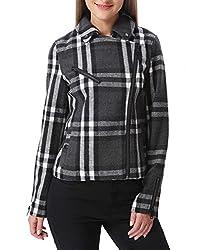 Vero Moda Women Solid Grey Jacket