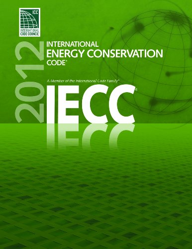 2012 International Energy Conservation Code - Soft-cover - ICC (distributed by Cengage Learning) - 3800S12 - ISBN: 160983058X - ISBN-13: 9781609830588