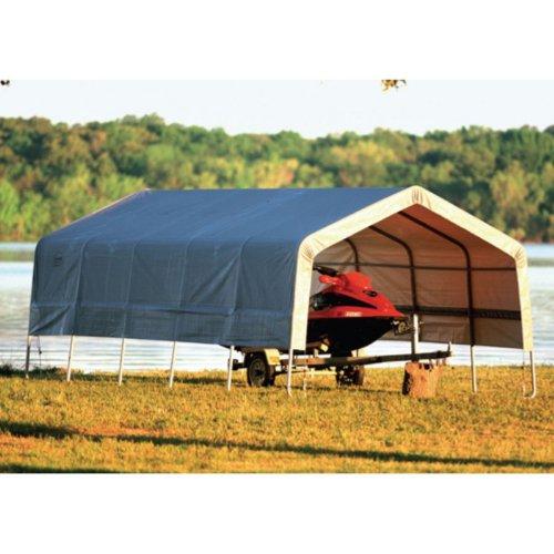 ShelterLogic 12 x 24 x 8 Car/Boat Canopy Carport