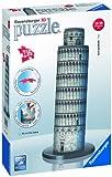 Ravensburger - 12557 - Puzzle 3D - Puzzleball Building 216P - Tour de Pise