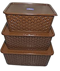 BASKET SET OF 3 (BIG, MEDIUM & SMALL)