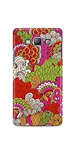 Casenation Leaf Illustration Samsung Galaxy A7 Matte Case