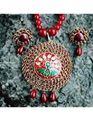 Pacchi Pendant Jewellery Set