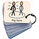 'Behaviour' Picture Symbol Card Keyring (AAC)by BSL for Kids