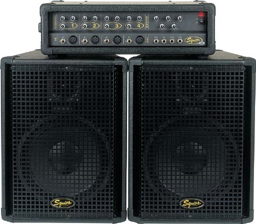 Fender Squier 4 Portable PA Sound System (Portable Pa Sound System compare prices)