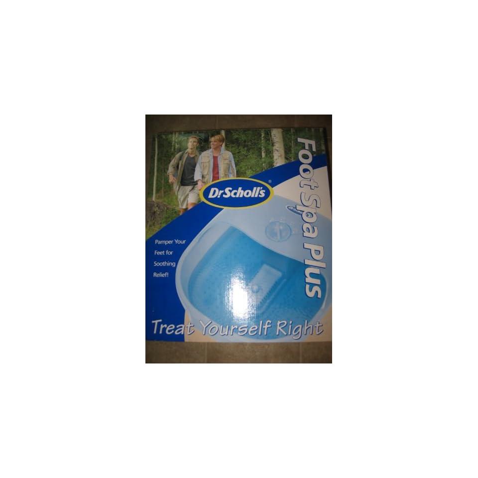 Dr. Scholls Foot Spa PLUS Foot Spa Or Bath Massage