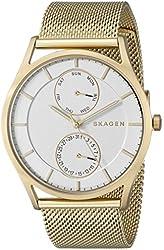 Skagen Men's SKW6173 Holst Analog Display Analog Quartz Gold Watch